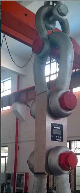 300吨拉力计厂家直销-300T无线打印测力计零售(配卸扣铝箱)