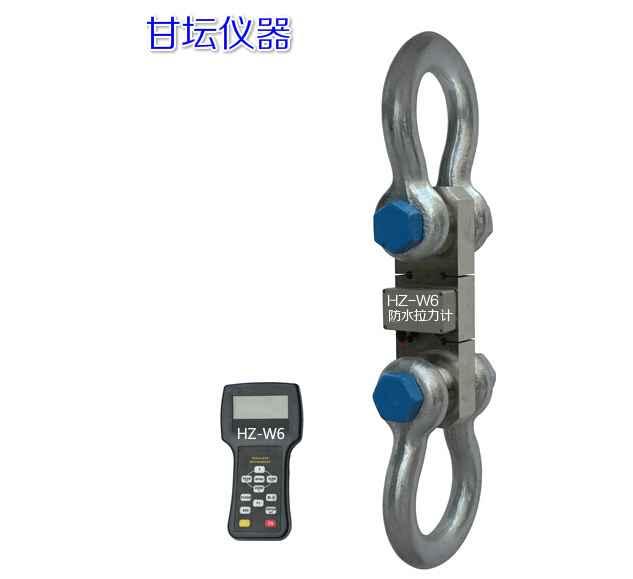 HZ-W6板环式无线拉力计 测力量程为5吨