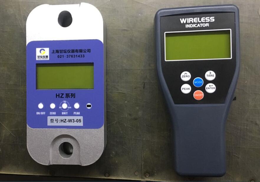 电机用5吨压式测力计_触摸屏设计.更方便用
